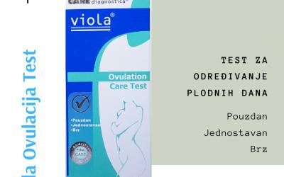 Viola Ovulacija test i plodni dani
